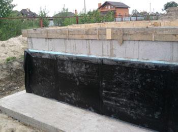 Nadácia hydroizolácia cena Kyjev
